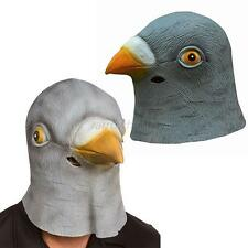 Latex Mask Chic Halloween Pigeon Head Creepy  Costume Theater Prop Novelty Hats