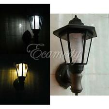 Solar LED Pathway Wall Light Outdoor Garden Landscape Courtyard EURO style Lamp