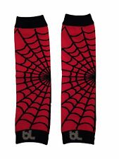 Leg Warmers Red Spider Webs Halloween Baby Toddler Boy