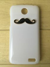 Funny Handlebar Mustache Hard Case Cover for iPhone LG Lenovo ZTE Cell Phone
