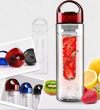 700ML Fruit Infusing Infuser Water Bottle Sports Health Lemon Juice Make Bottle