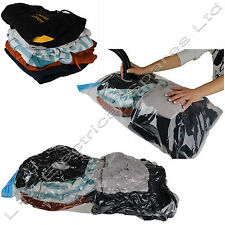 Vacuum Compressed Storage Bags Ideal For Use When Travelling or Moving Home 10PK