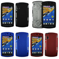 Mesh Net Hard Rubberized CASE Cover Skin For SONY ERICSSON XPERIA PLAY R800
