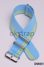 20MM Nylon Watch band watch strap More color watch band 25color available