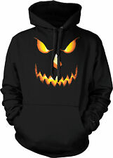 Jack-o-lantern Halloween Evil Pumpkin All Hallows Saints Eve Hoodie Pullover