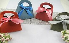 "50ea Color Purse Handbag Favor Gift Box 3.25"",Wedding Shower Jewelry Candy"