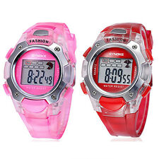 Child Kid Boy Girl Multifunction Waterproof Sport Electronic Digital Wrist Watch