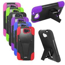 Phone Case For Walmart Family Mobile Alcatel Fierce 2 Rugged Cover Stand