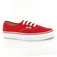 Vans Classic Authentic Red Women Trainers