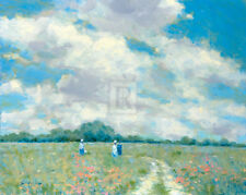 Andre Gisson SUMMERTIME landscape print, PREMIUM QUALITY Giclee, various sizes