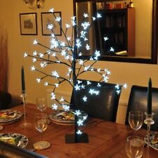 BONSAI TREE 96 OR 48 WHITE LED LIGHTS DINNER TABLE CENTREPIECE HOUSE DECORATION