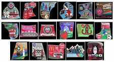 LONDON 2012 OLYMPICS COCA COLA PIN BADGES (BOX OF 10) - YOU CHOOSE
