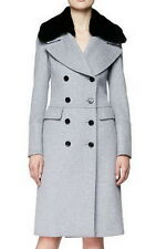 Long Double-Breasted Military Coat Fur Collar Coat JY018 Plus 1x-10x (SZ 16-52)