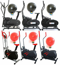 New EXERCISE BIKE/CROSS TRAINER/ELLIPTICAL-Cycle, Cardio & Fitness Body Workout