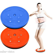 Twist Waist Torsion Disc Board Aerobic Exercise Fitness Reflexology Magnets