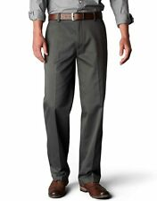 DOCKERS MEN'S SIGNATURE PANTS D2 STRAIGHT FIT FLAT FRONT