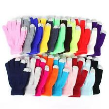 Women/Men Touch Screen Gloves For Smart Phone Tablet Full Finger Winter Mittens