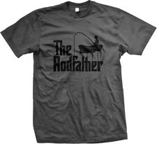 The Rodfather Pun Parody Fishing Fisherman Humor Funny Joke Mens T-shirt