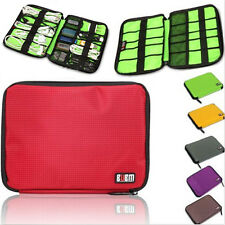 Travel Cable Organizer Bag Case for USB Flash Drive Chargers Headsets Pen Pencil
