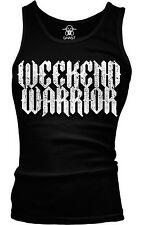 Weekend Warrior Party Animal TGIF Funny Humor Shenanigans Boy Beater Tank Top