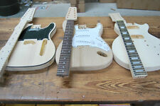 HOLLOW & SOLID BODY 12 STRING ELECTRIC BUILDER GUITAR KITS- TELE or STRAT
