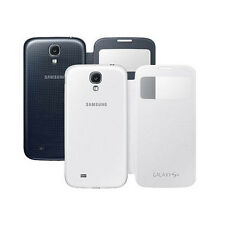 Window Flip Smart S View Case Cover For Samsung Galaxy S4