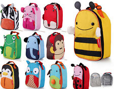Kids Boys Girls Animal Backpack/Zoo School Bag Lunch Box Back Pack Camp Picnic x