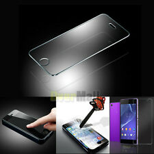 Premium Tempered Glass Film Screen Protect For iPhone Samsung HTC Sony LG Phone