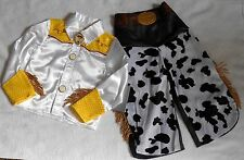 GIRLS SIZES 3, 4, 5-6, 7-8, OR 9-10 DISNEY STORE JESSIE COSTUME FOR GIRLS NWT