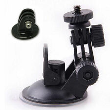 New Car Suction Cup Mount Holder Stand Tripod Adapter For GoPro Hero 1 2 3 3+ FS