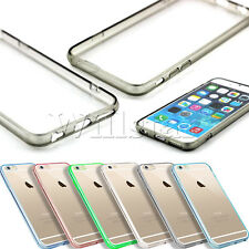 HYBRID HARD CLEAR SILICONE BACK SOFT TPU GEL BUMPER COVER CASE FOR IPHONE 6 4.7""