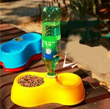 Dog Utensils Bowl Cat Drinking Fountain Food Dish Pet  Automatic Water Bowl W