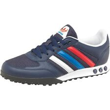 Brand New Mens Shoes Adidas La Trail Run Trainers Rrp £65 Originals Navy Blue @