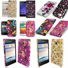 VINTAGE PRINTED SILICONE TPU GEL CASE COVER FOR VARIOUS MOBILE PHONES MODELS