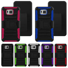 Belt Clip Holster Hybrid Stand Case Cover For Samsung Galaxy S5 Alpha G850F