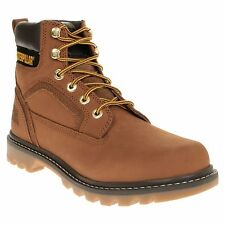 New Mens Caterpillar Tan Stickshift Nubuck Boots Work Lace Up DLS