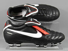 Nike Tiempo Mystic III FG womens football boots - Black/White