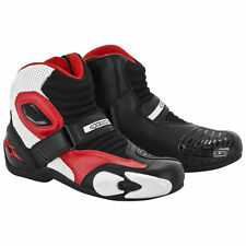 Alpinestars SMX-1 Boot Black/White/Red ALL SIZES