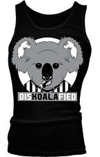 DisKOALAfied Funny Humor Cute Joke Referee Pun Meme Boy Beater Tank Top