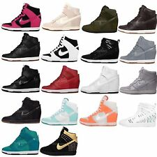Nike Wmns Dunk Sky Hi Womens Hidden Heel Fashion Wedges Casual Shoes Pick 1