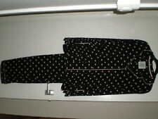 MARKS AND SPENCER LADIES BLACK HEART PYJAMAS BNWOT VARIOUS SIZES AVAILABLE