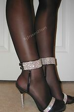 PEAVEY Sheer Pantyhose STW ST Small Gusset Slimming BLACK Pick Size A B C D Q