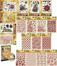 SHEENA DOUGLASS A TASTE OF INDIA COLLECTION STAMPS EMBOSSING FOLDERS CDROM - NEW