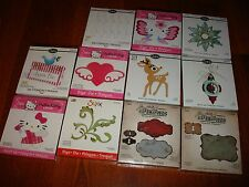 Sizzix Bigz Dies, Brand New - Big Lot