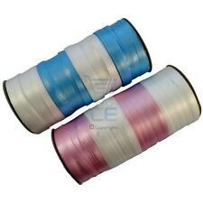 5mm Curling Ribbon on 152 Metre Roll Blue and Pink Crafts Baby Colours Balloons