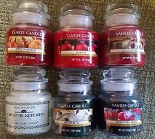 Yankee Candle Small Jar 3.7 oz Candle Assorted Retired Scents