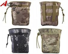 Airsoft Tactical Military Paintball Molle Magazine Dump Drop Small Pouch Bag B