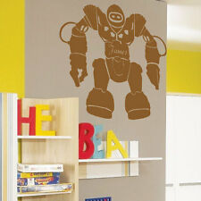 Personalized Robots Kids Children Nursery Wall Stickers Wall Decals Wall Arts