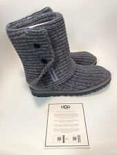 UGG Australia Classic Cardy Grey Boot womens size 5-11/36-42 NEW!!!