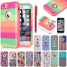 "For Apple iPhone 6 Plus /iPhone 6 4.7"" Hybrid Shockproof Impact Hard Case Cover"